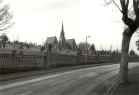 Cemetery Road, Batley, February 1999